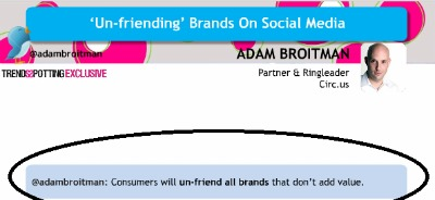 TrendSpotting slide Adam Broitman quote