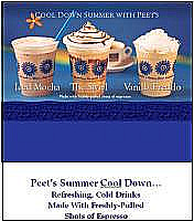 Peet's Coffee & Tea Summer Promotion