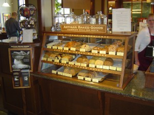 Improved Peet's bakery display