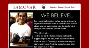 Samovar Tea Lounge as a mission-inspired business